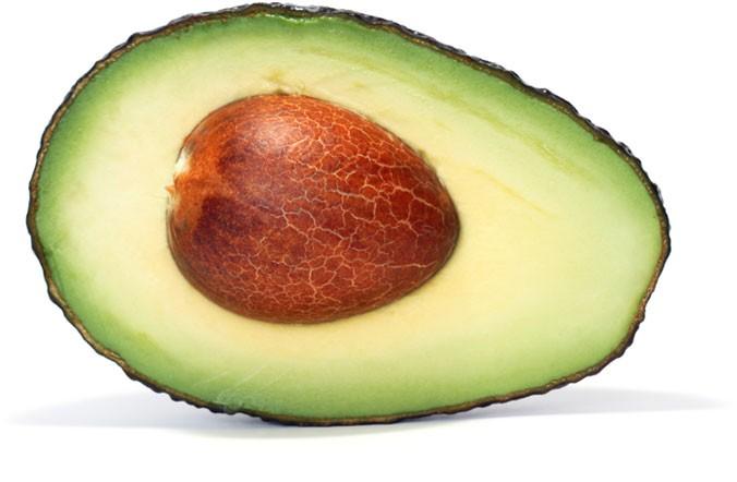 half-avocado