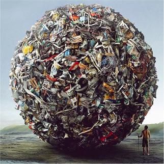 rubbish landfill ball