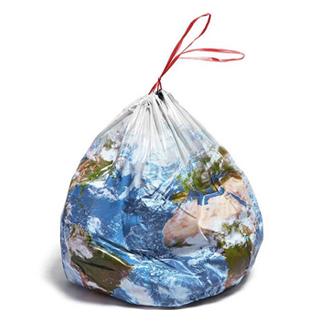 plastic bag earth